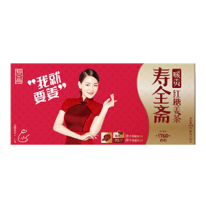 SHOU QUAN ZHAI Ginger Tea- Red Sugar Flavor 12gx30pcs