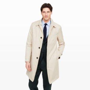 Men   Outerwear   Crombie Mallard Coat   Club Monaco