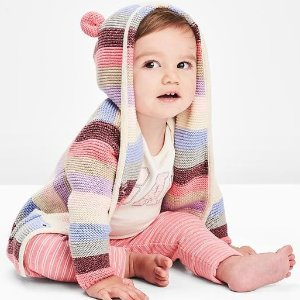 Extra 40% Off + Extra 10% OffFree Shipping Kid's Clothing @ Gap