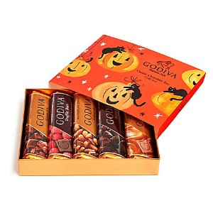 Assorted Chocolate Bars, Halloween Sleeve, 5 pc. | GODIVA