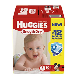 $17.28Huggies Snug & Dry Diapers, Size 2, 104 Count