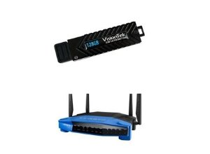 Linksys WRT1900ACS Smart Router + 128GB USB3.0 SSD + $50 Dell GC