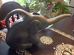 Union 63182 Elephant Watering Can, 2 quart, Gray