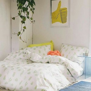 Cactus Icon Duvet Cover | Urban Outfitters