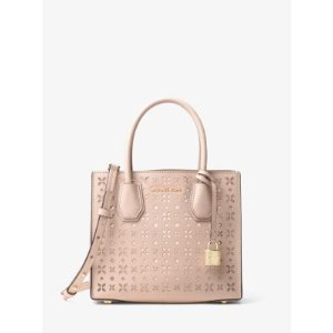 Mercer Perforated Leather Crossbody