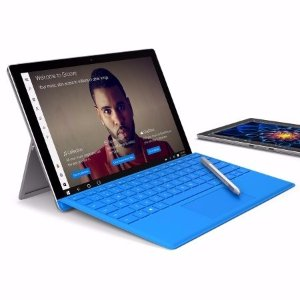 $674包邮送Type Cover 仅限今日Microsoft Surface Pro 4 平板电脑(Core i5 4GB 128GB版)