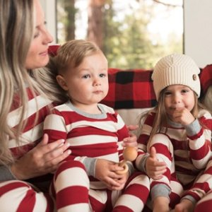 Family Jammies   Rugby Stripe Matching Pajamas   Burt's Bees Baby®