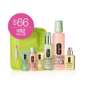 Great Skin Home and Away Set for Oilier Skin | Clinique