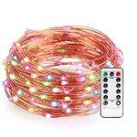 LeMorcy LED防水多彩装饰灯串带遥控器