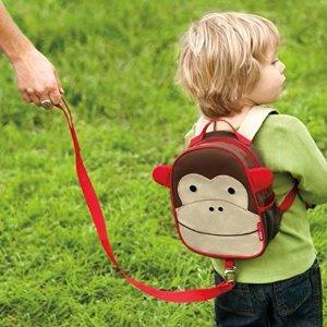 Skip Hop Zoo Little Kid & Toddler Safety Harness Backpack (Ages 2+), Multi, Livie Ladybug