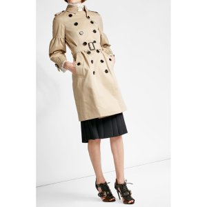 Cotton Trench Coat - Burberry