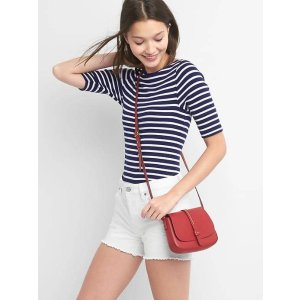 Stripe elbow sleeve modern boatneck | Gap