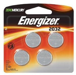 $2.18 包邮Energizer 劲量 3V 纽扣电池4个