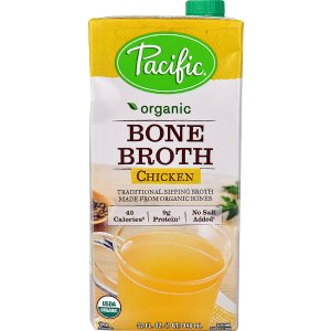 Pacific Natural Foods Organic Bone Broth Chicken -- 32 fl oz - Vitacost