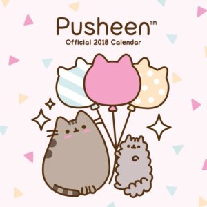 $7.84Pusheen Official 2018 Calendar - Square Wall Format