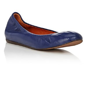 Lanvin Leather Flats | Barneys Warehouse