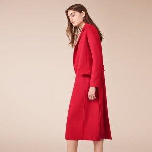 GEODE Wool-blend coat