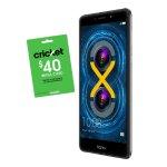 Huawei Honor 6x 32GB无锁智能手机+价值$40电话卡+SIM激活卡