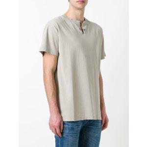 Off-White Collar Cut T-shirt - Farfetch