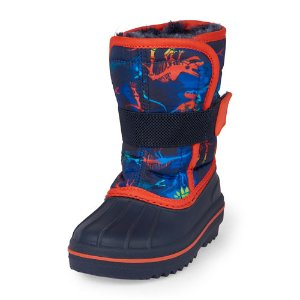 Toddler Boys Dinosaur Print Snowboot | The Children's Place