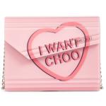 Jimmy Choo粉色手包