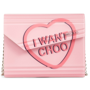 Jimmy Choo Candy Love Heart Clutch