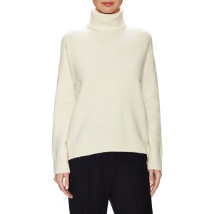 Wool Ribbed Turtleneck Sweater by Vince at Gilt