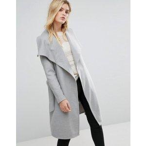 Only Wrap Coat at asos.com
