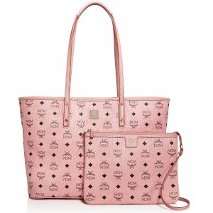 MCM Anya Logo Zip Medium Shopper Tote | Bloomingdale's