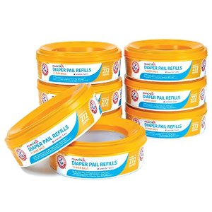 $27Munchkin Arm and Hammer Diaper Pail Refill Rings, 2,176 Count