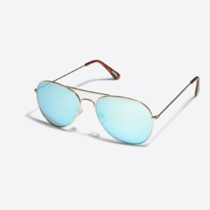 Golden Aviator Sunglasses : Men's Accessories | J.Crew Factory