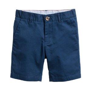 Chino Shorts | Dark blue | Kids | H&M US