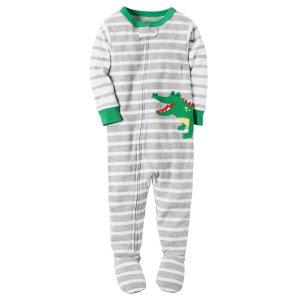 Baby Boy 1-Piece Snug Fit Cotton PJs | Carters.com