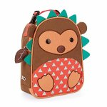 Skip Hop Baby Zoo Little Kid and Toddler Insulated and Water-Resistant Lunch Bag