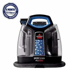 BISSELL SpotClean ProHeat Portable Spot Carpet Cleaner | 5207 Refurbished! | eBay