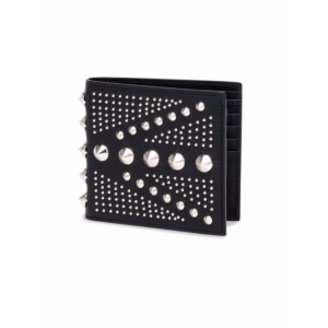 Alexander McQueen - Studded Leather Billfold Wallet - saks.com