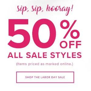 50% offAll Sale Styles @ Vera Bradley