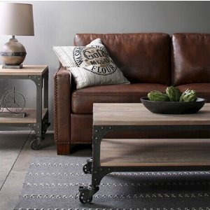 Franklin Coffee Table Weathered Gray : Target