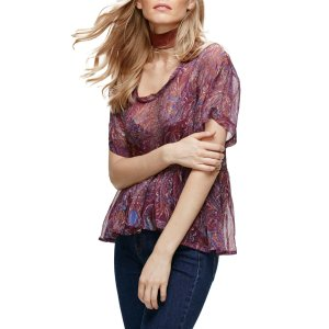 Free People | Say You Will Paisley Shirt