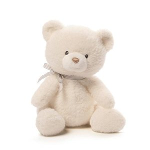 Amazon.com : Gund Baby Oh So Soft Cream Bear : Baby