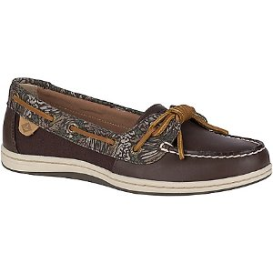 Barrelfish Animal Print Boat Shoe