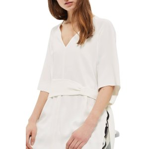 Topshop Belted Kimono Tunic | Nordstrom