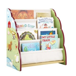 Farm Friends Children's Book Case - Free Shipping Today - Overstock.com - 16270714