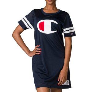 CHAMPION Mesh Jersey Logo Dress - Navy | Jimmy Jazz - WL9904