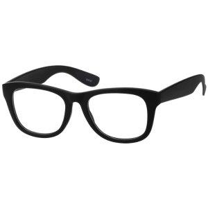 Black Classic Square Eyeglasses #1241 | Zenni Optical Eyeglasses