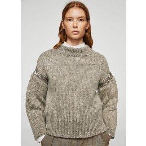 Sequin sweater - Women | MANGO USA