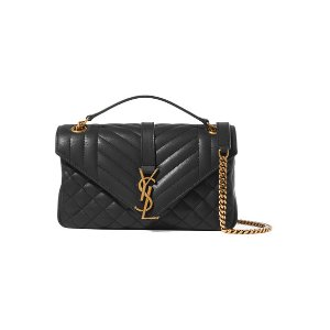 Soft Envelope quilted leather shoulder bag