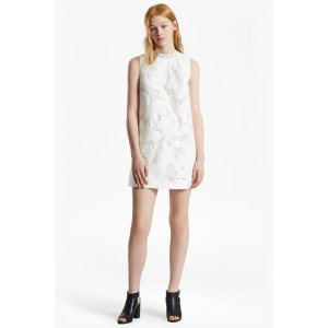 Deka Cotton Embroidered Mini Dress