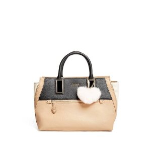 Rosalee Faux-Leather Satchel at Guess