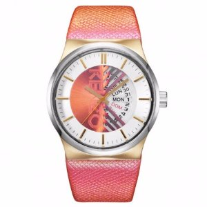 Kenzo Pink Snakeskin Watch   Unineed   Premium Beauty & Fashion